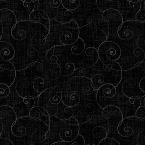 Whimsy Basics Soothing Swirl Black