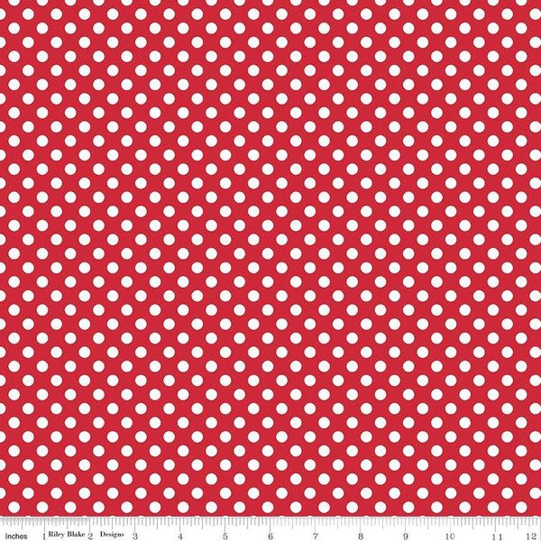 Small Dot Red