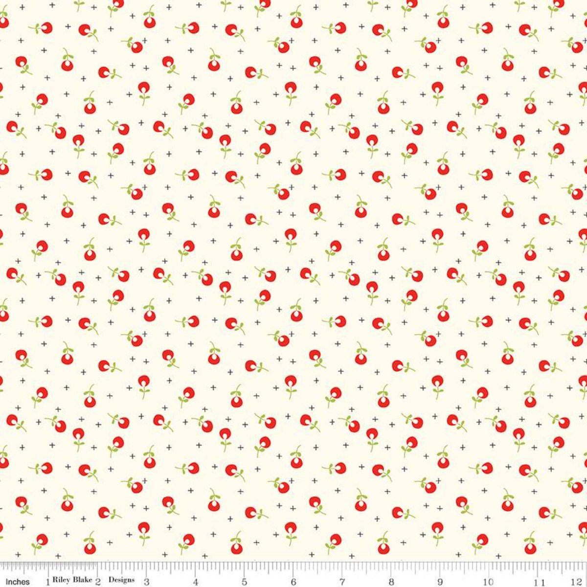 Merry Little Christmas Berries Cream