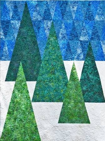 Evergreen Quilt Cut Loose Press Pattern Card