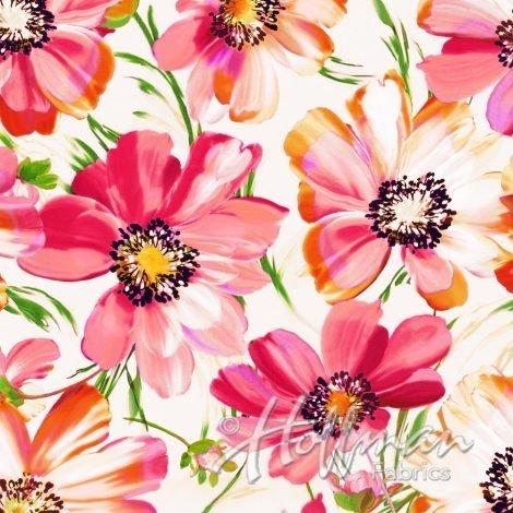 Punchflower Pink Digital Print