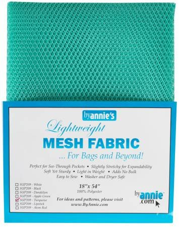Mesh Fabric 18x54 By Annie - Turquoise