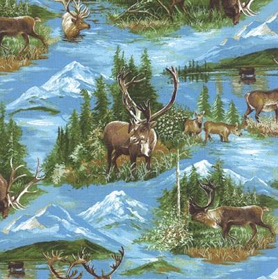 Caribou-Summer Wild Blue Yonder M 33121-11