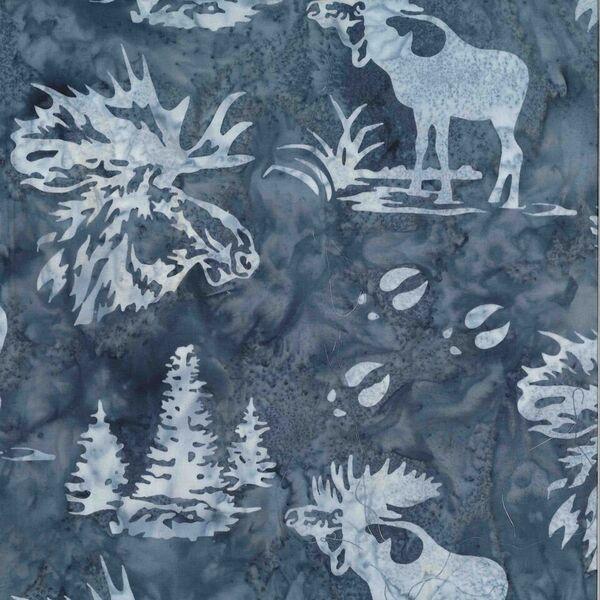 Moose Batik N2911-76 Pewter