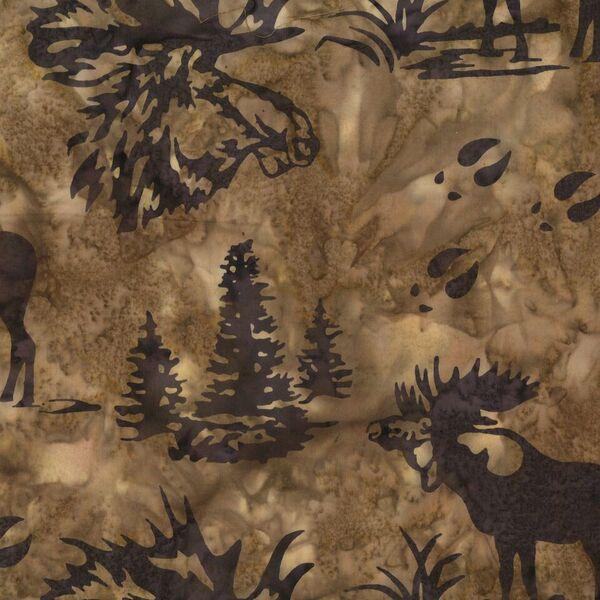 Moose Batik N2911-171 Mocha