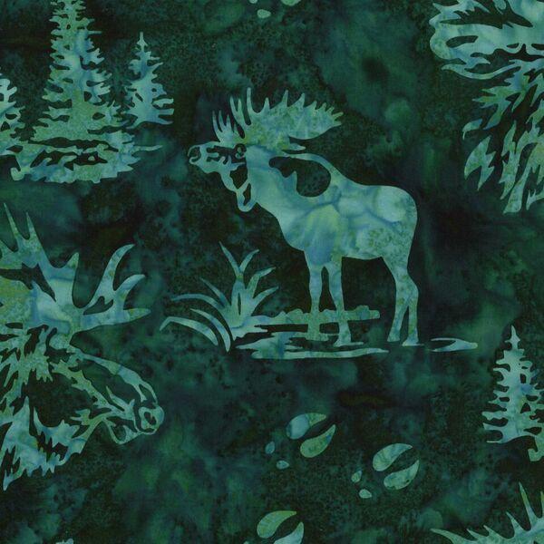 Moose Batik-H-N2911-309 Viridian