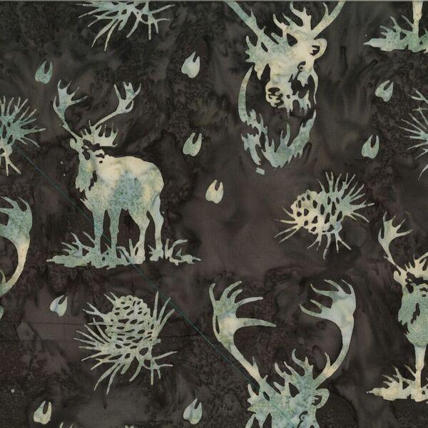 Caribou Batik N2912-623 Umber