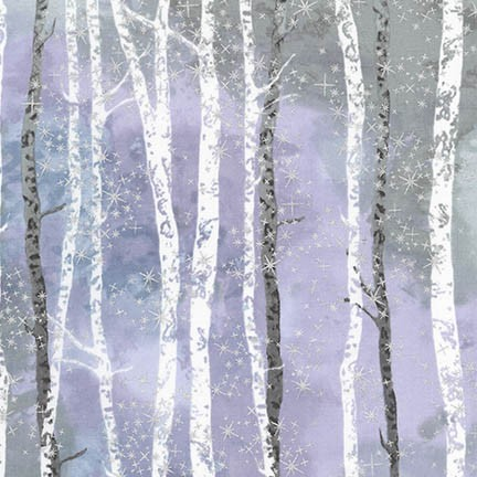Sugar Plum Trees K 15903-23 Lavender