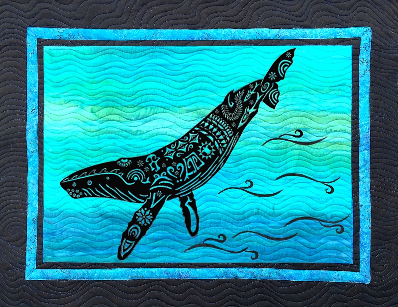 Alaska Whale Song Laser Kit in Brights Humpback Whale