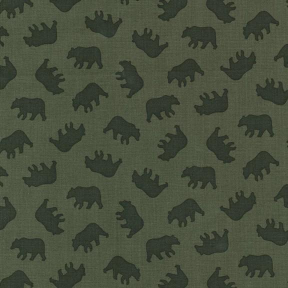 Into the Wild Mini Bears Olive CX 7244