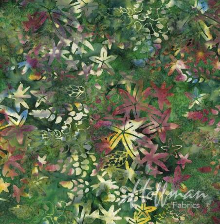 Batik Lupine P2983-562 Blooms