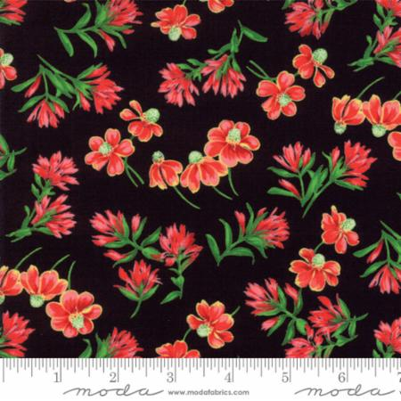 Wildflowers VIII M 33222-19 Black