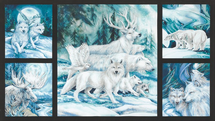 Winter's Majesty Panel P13 K 16705-88