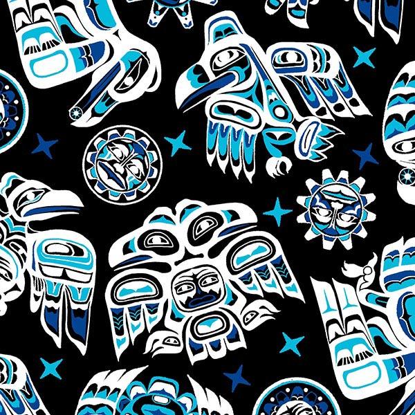 Native Spirit ELS 550 Blue on Black