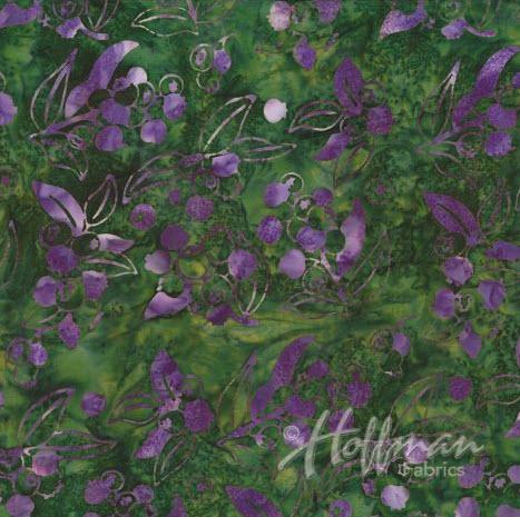 Batik Berries H P2986-346 Huckleberries