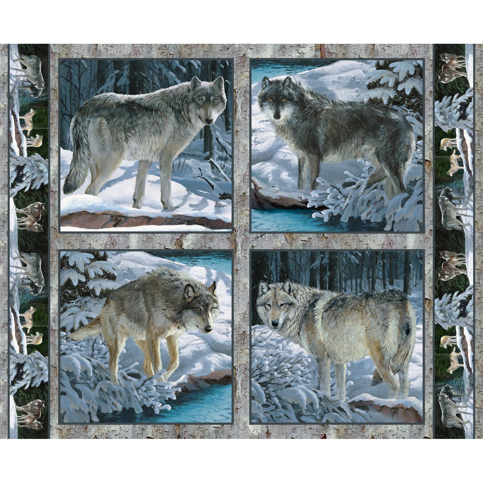 Silver Shadows Wolf Blocks P105 SPR 66444