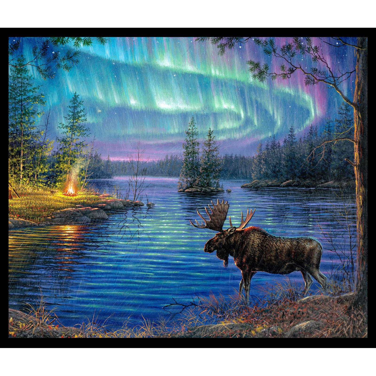 Panel Northern Lights Moose Digital P7 ELS 9600