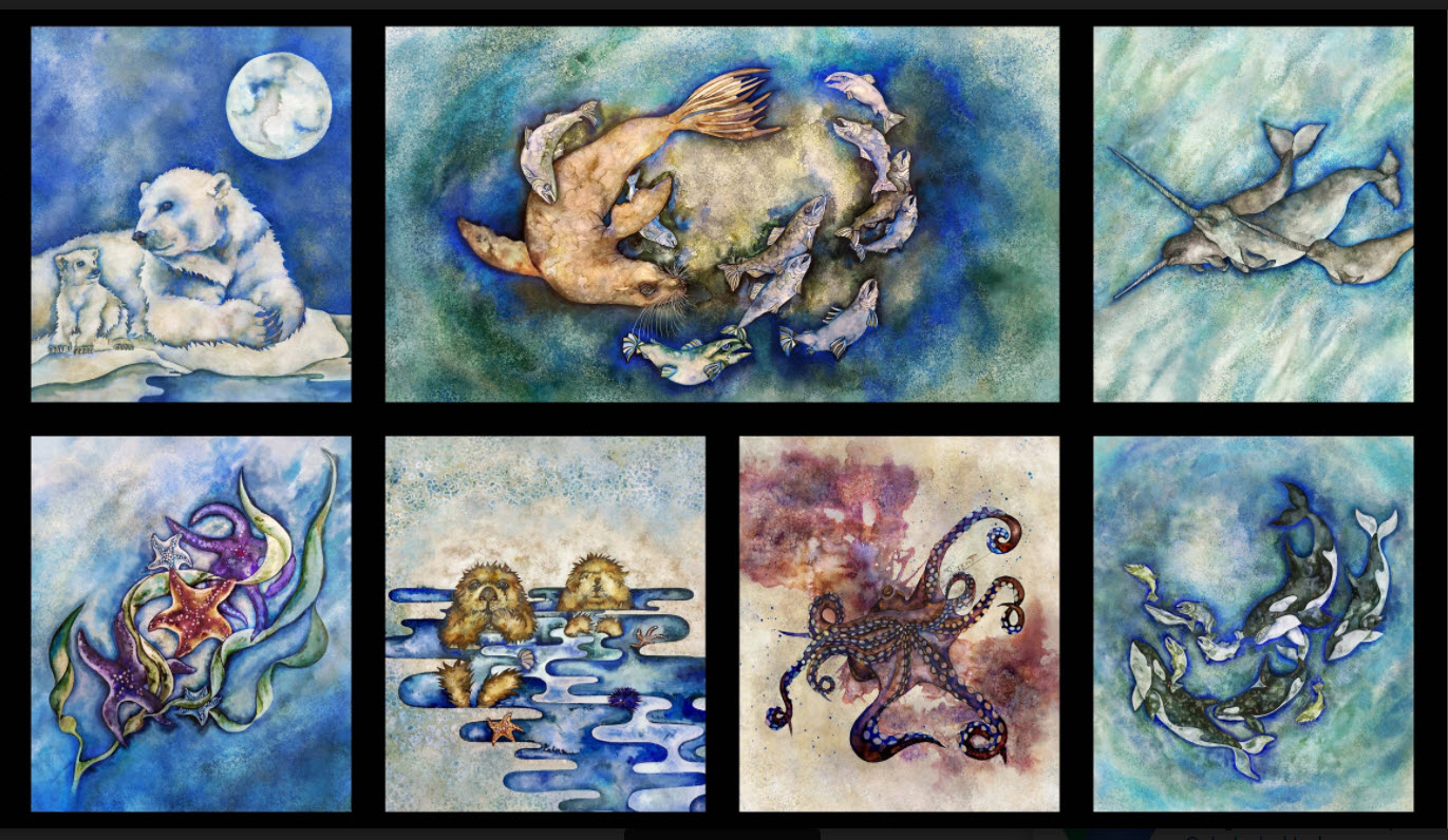 Panel Wilderness Expressions 2 Sealife P111