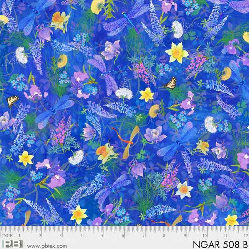 Nature's Garden Dragonflies Blue NGAR 508B Digital