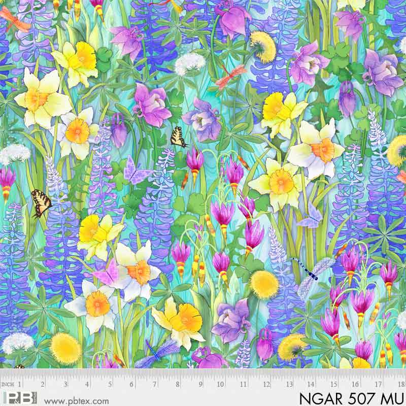 Nature's Garden Floral NGAR 507 Multi Digital