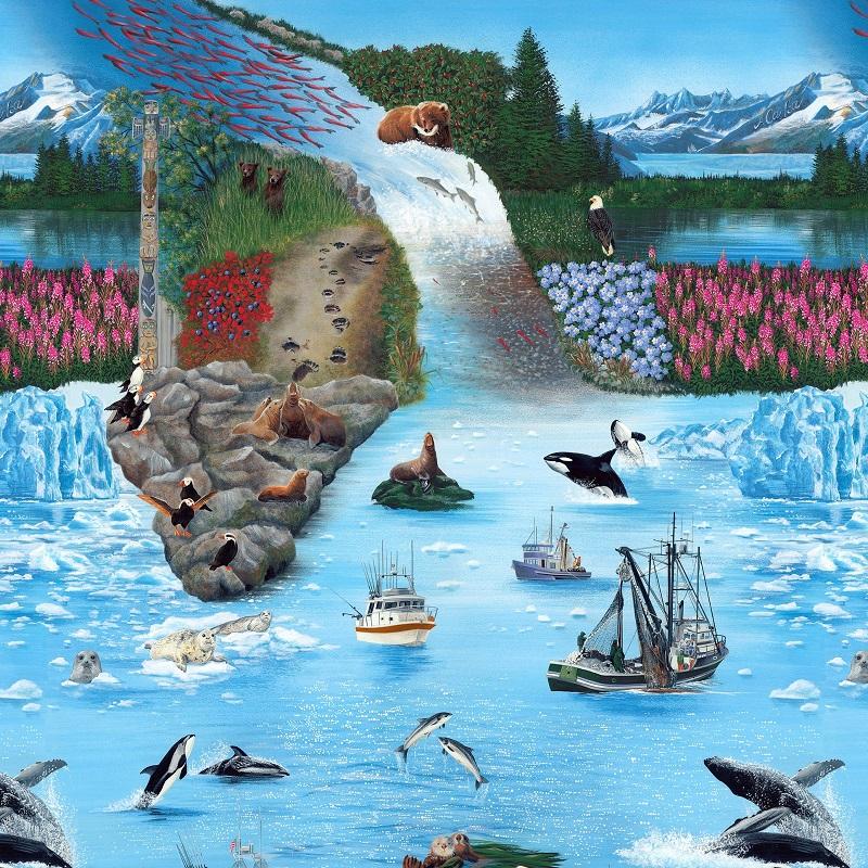 Digital Coastal Alaska No.2 SRK 8863-268