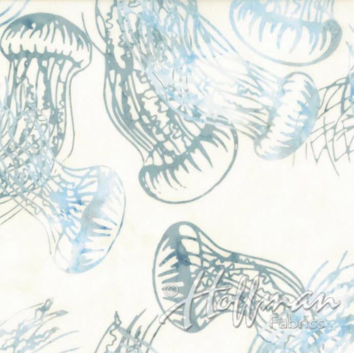 Batik Jellyfish H Q2168-581 Bluegrass