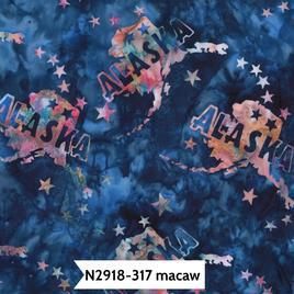 State of Alaska Batik-H-N2918-317 Macaw