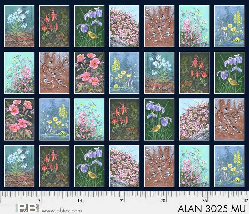 National Parks Floral  P52Blocks