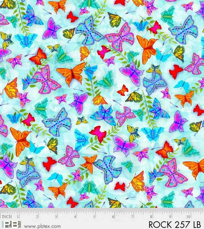 Rock Garden Butterflies PB 257 LB Digital