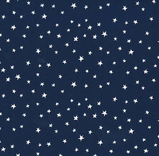 White Stars on Navy MM 8283-Navy