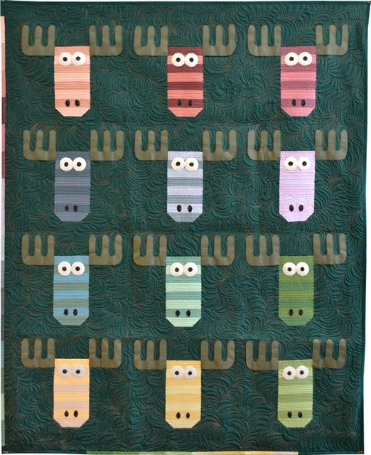 Wild Moose Chase Quilt Kit