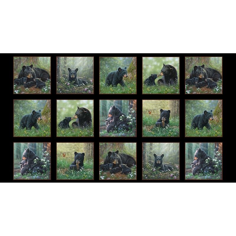 Panel Tender Moments P27 Bears ELS 9606-Black