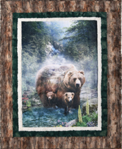 Brother Bear Kit with Cub Cuddle Fabric Kit