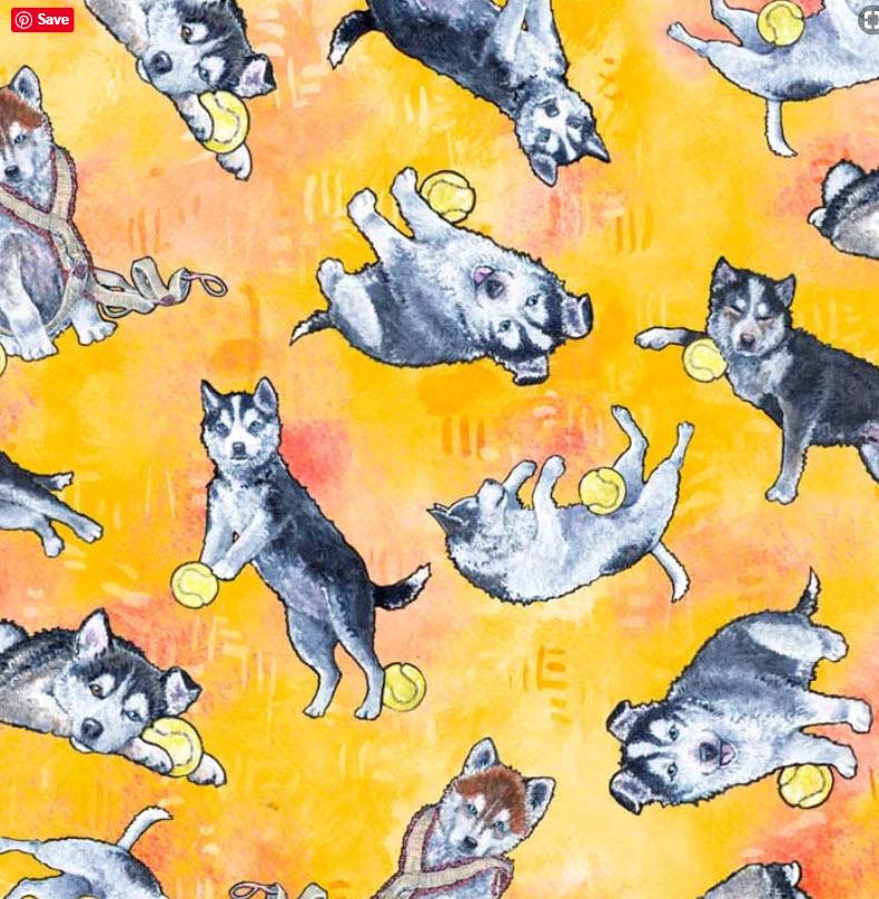 Siberian Pups PB 3173 YO Yellow
