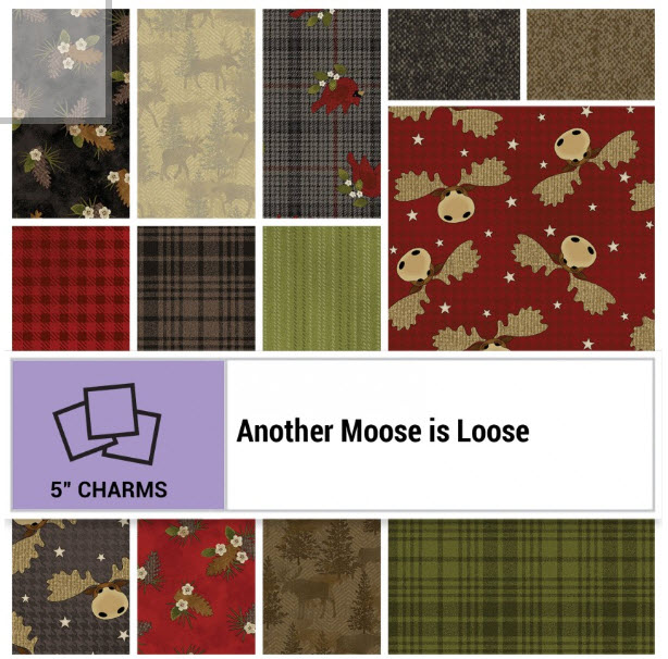 Another Moose is Loose Charm Pack