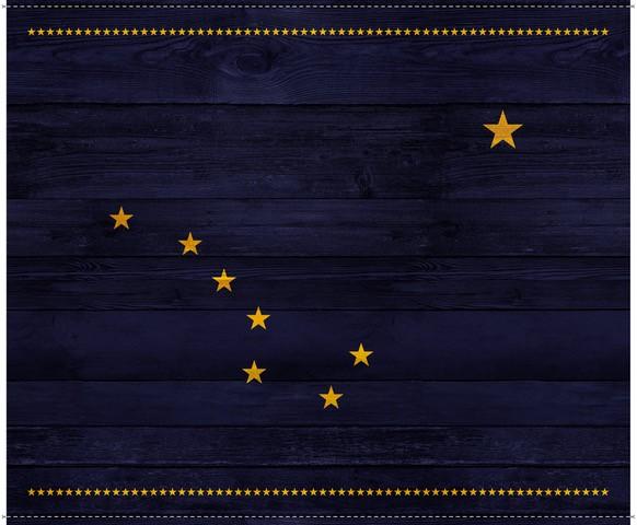 Panel Alaska Flag P69