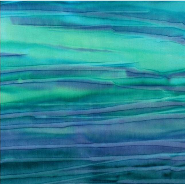 Batik Streak Blue Green K 7018-333 Sea Glass