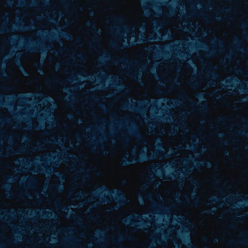Big Dipper Wildlife Batik SH84-580 Ocean