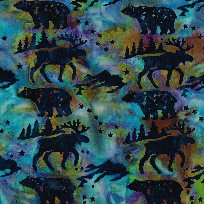 Big Dipper Wildlife Batik SH84-865 Marbles