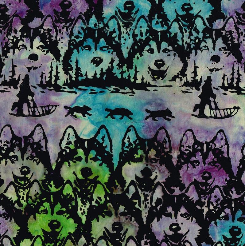 Batik Jon Van Zyle Husky Sled SH48-L Marbles