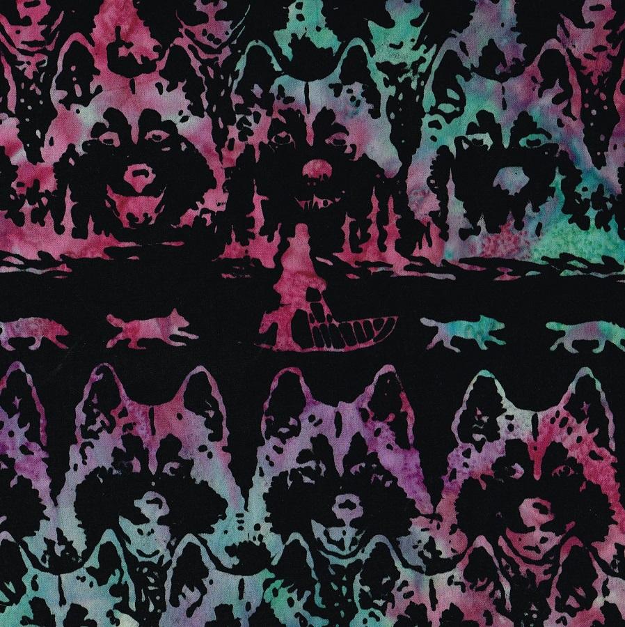 Batik Jon Van Zyle Husky Sled SH48-M Rev