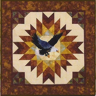 A Blaze of Glory Quilt Kit