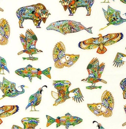 Animal Spirits K 18414-205 Sue Coccia