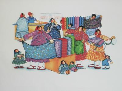 Kuspuks by the Yard Fabric Panel-Barbara Lavallee