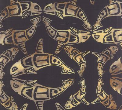 Totemic Orca Batik F2098-213 Onyx