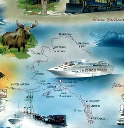 Cities of Alaska-Hoffman BBKK940-Multi