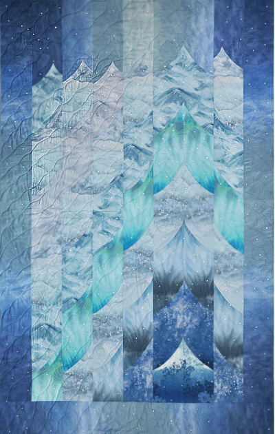 Glaciers of the Inside Passage Quilt Kit!