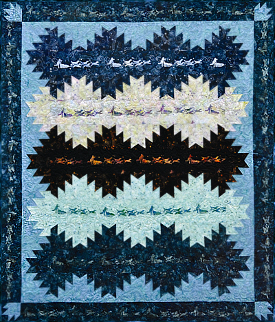 Delectable Dog Sled Quilt Kit-Quilts with a TwistLisa Moore