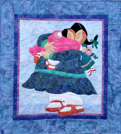 Hugs Quilt Kit-Barbara Lavallee