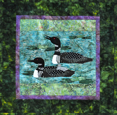 Loon Song Wall Quilt Kit-Copper River Hot Yotts